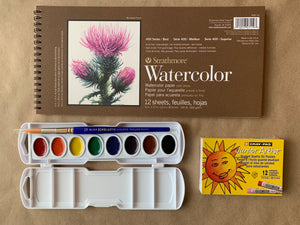 Watercolor Resist Kit
