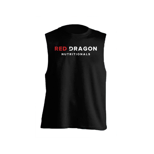 Red Dragon Logo Cutoff Tee