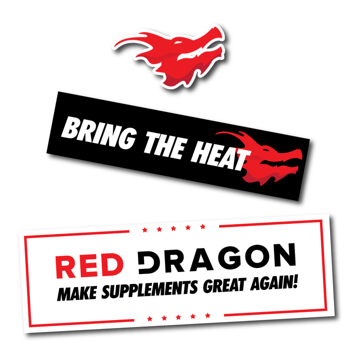 Red Dragon Nutritionals Sticker Pack