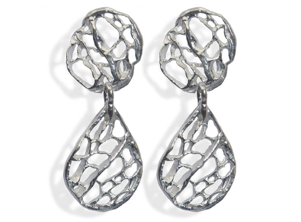 Sea Fan Small Dangle Earring