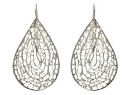Sea Fan Large French Hook Earring