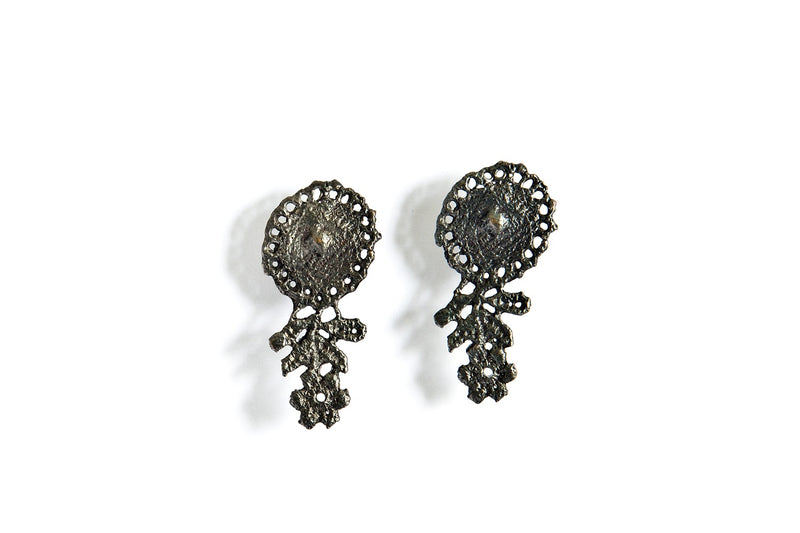 Lace Mirror Earring