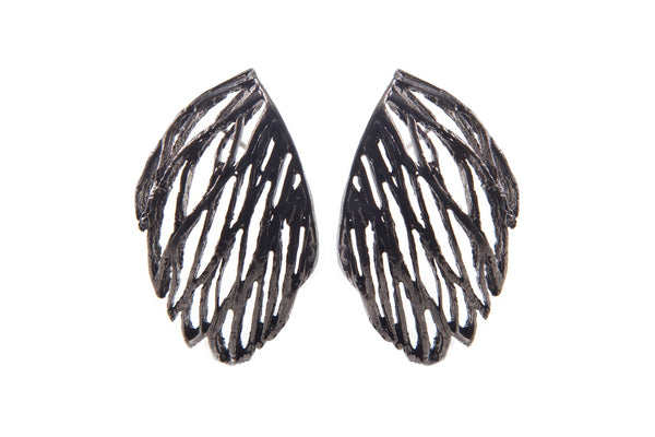 Palm Large Curve Earring