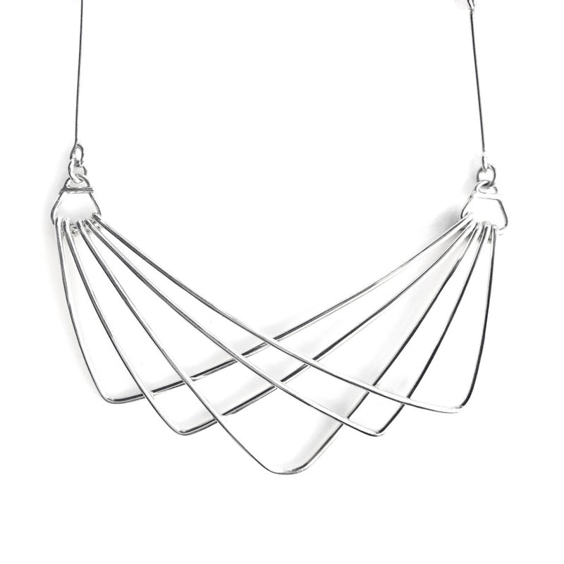 Silver Sway Necklace
