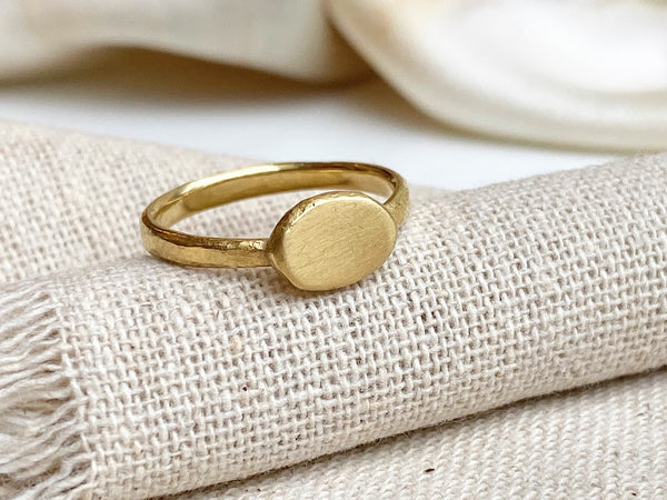 Signet Ring in 18ky Gold