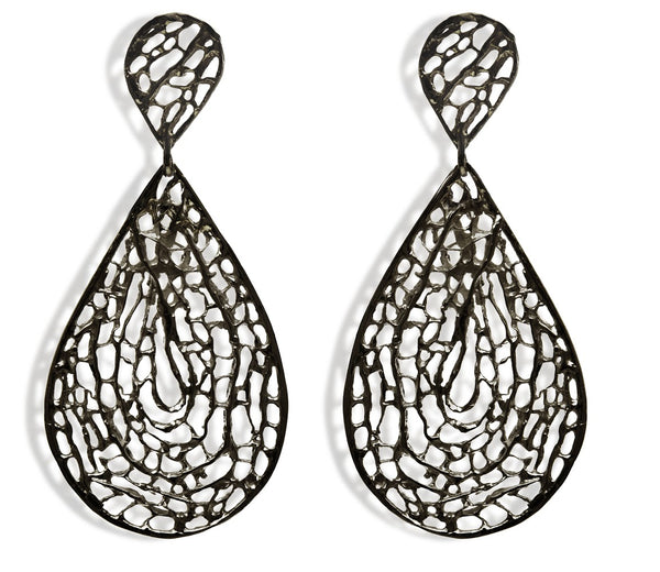 Sea Fan Large Dangle Earring