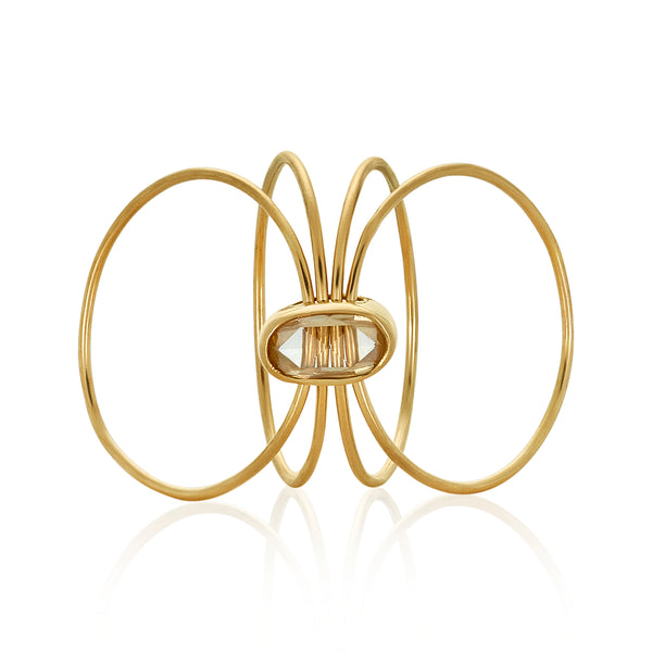 For Your Wishlist Only - Gold Kinetic Rings