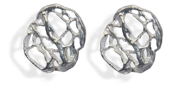 Sea Fan Stud Earring