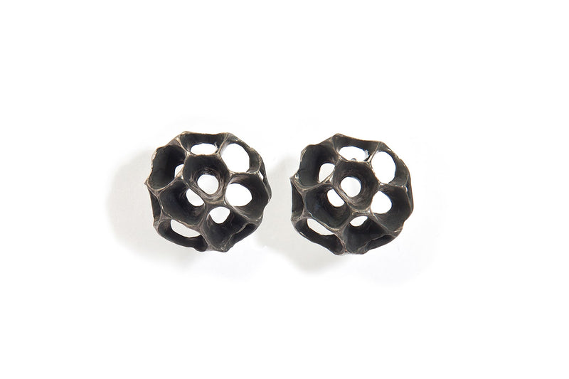 Sweet Gum Bubble Stud Earring