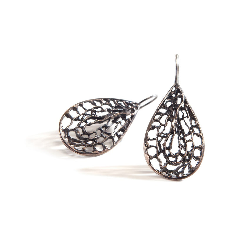 Sea Fan Medium French Hook Earring