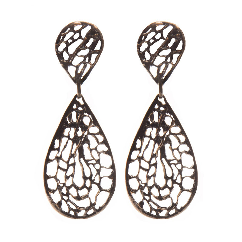 Sea Fan Medium Dangle Earring