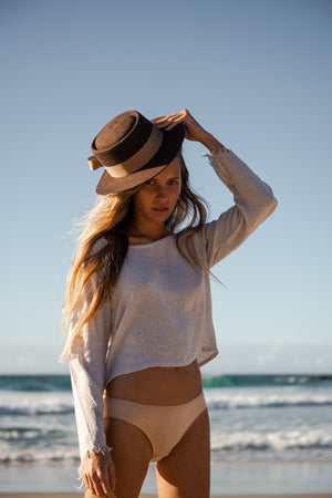 The Silk co. | Ruby Ren Blouse | Sustainable Raw Silk Clothing - The Silk Co Byron Bay