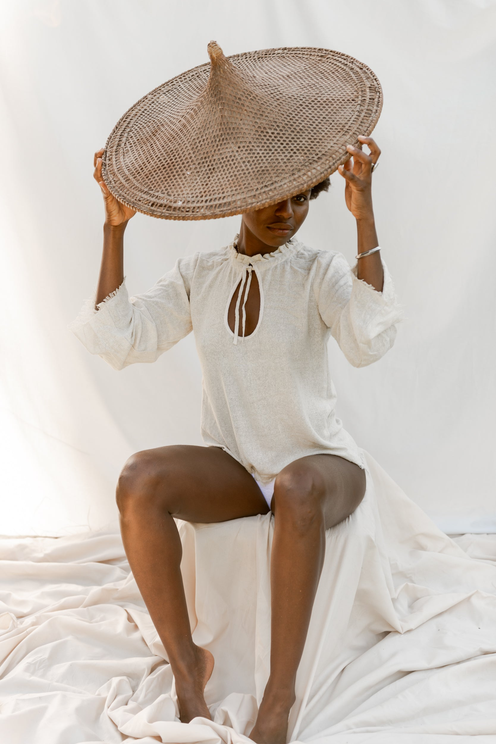 The Silk co. | Anne Bonnie Blouse | Sustainable Raw Silk Clothing - The Silk Co Byron Bay
