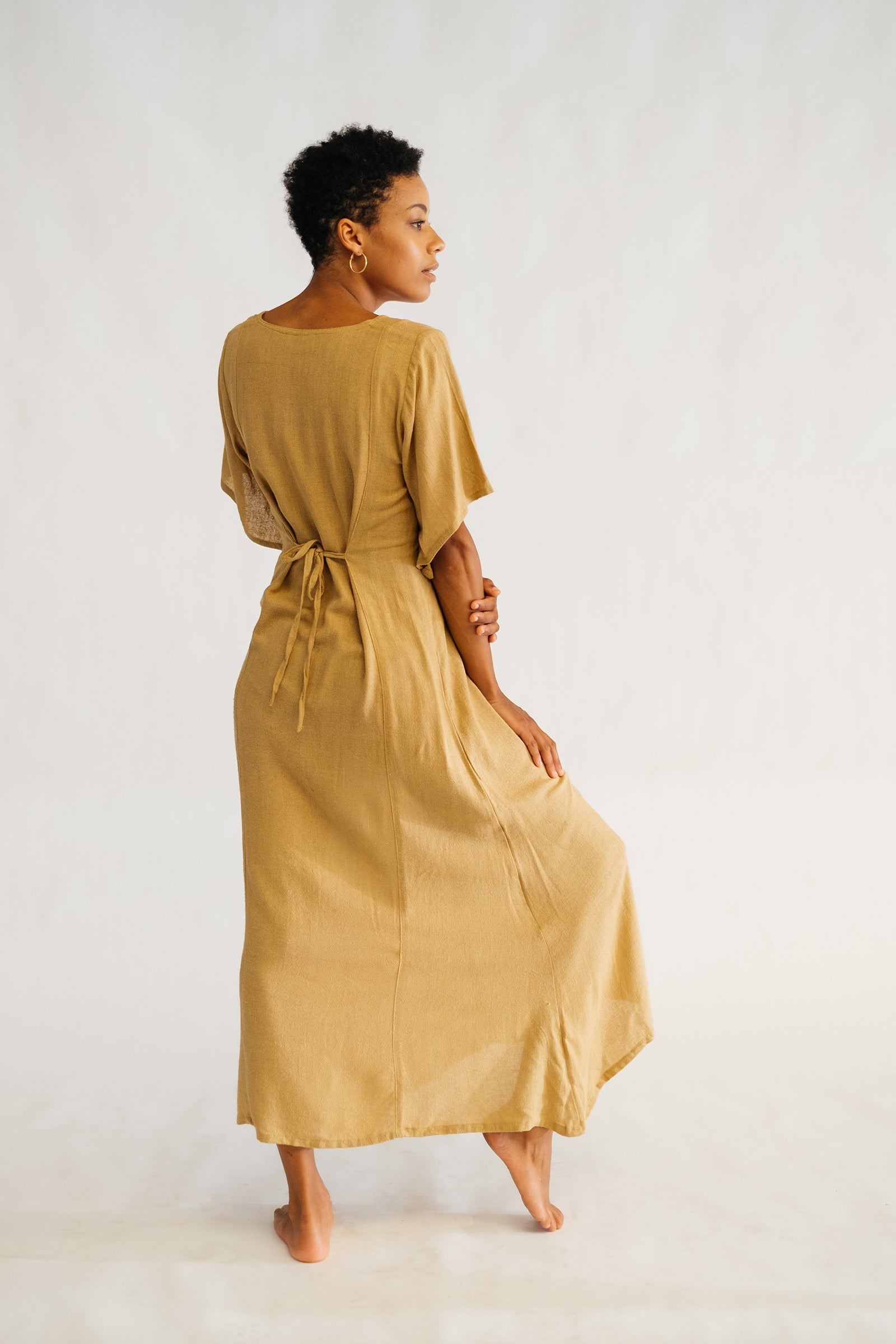Esther Dress - The Silk Co Byron Bay