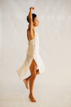 The Silk co. | Madison Slip | Sustainable Raw Silk Clothing - The Silk Co Byron Bay