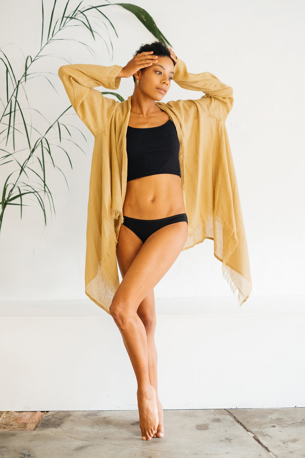 The Silk co. | Ocean Kimono | Sustainable Raw Silk Clothing - The Silk Co Byron Bay