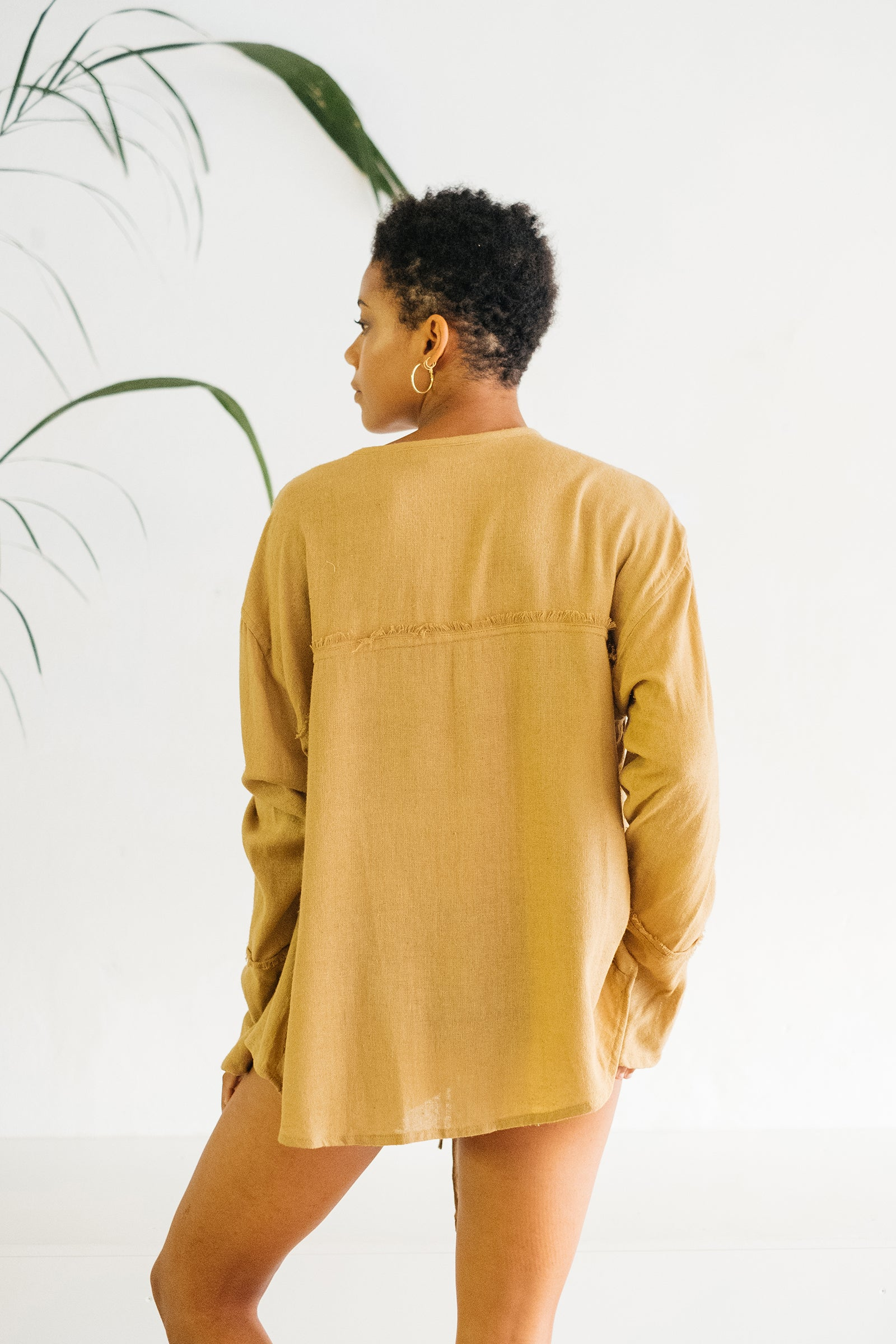 The Silk co. | Tigerlily Blouse | Sustainable Raw Silk Clothing - The Silk Co Byron Bay