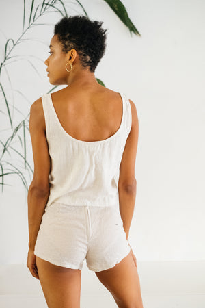 The Silk co. | Sparrow Crop | Sustainable Raw Silk Clothing - The Silk Co Byron Bay