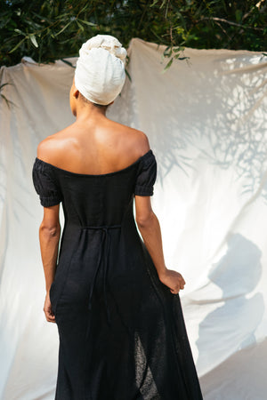 The Silk co. | Shelly Bay Maxi Dress | Sustainable Raw Silk Clothing - The Silk Co Byron Bay