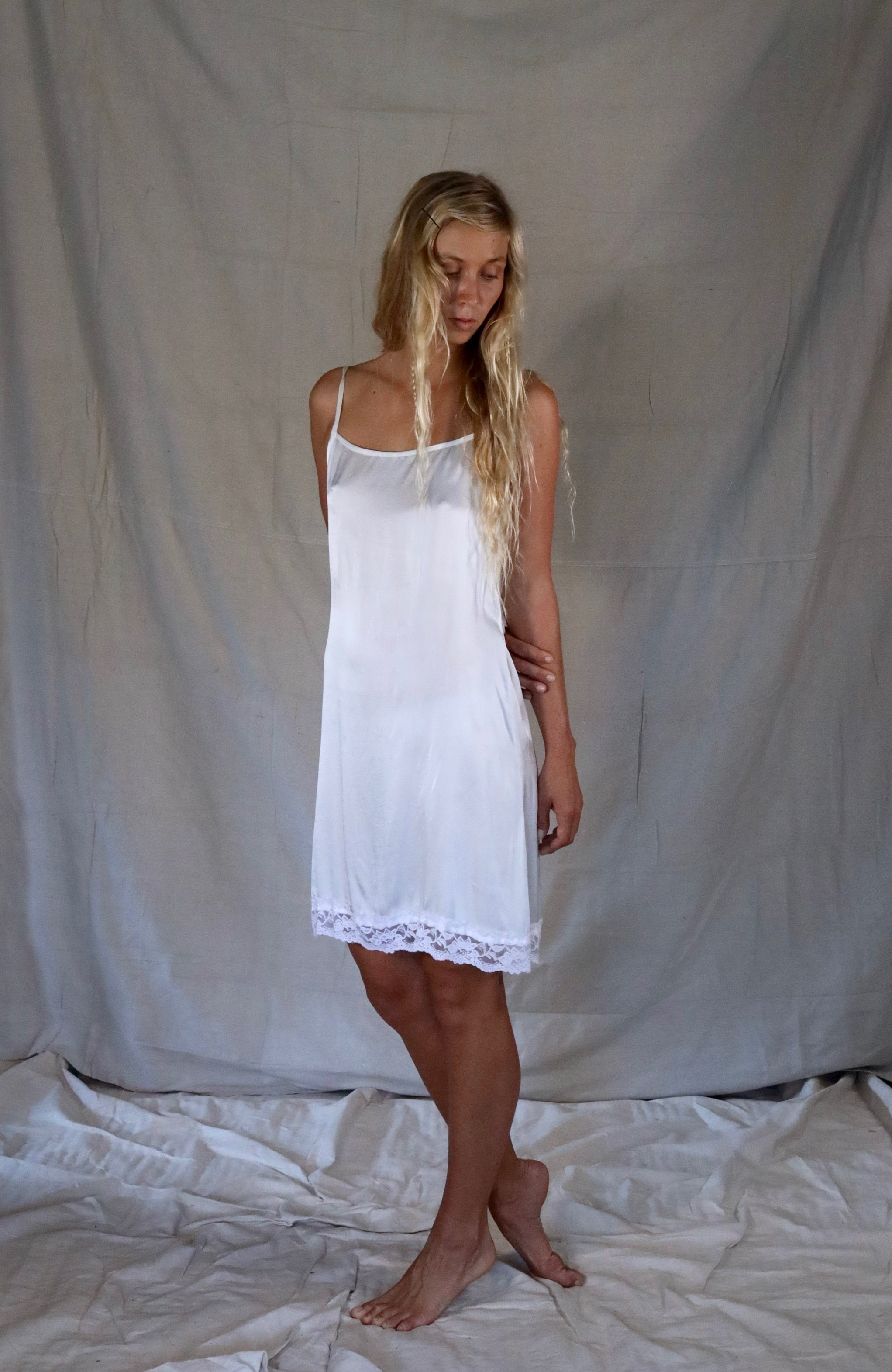 Poppi Mini Slip - The Silk Co Byron Bay