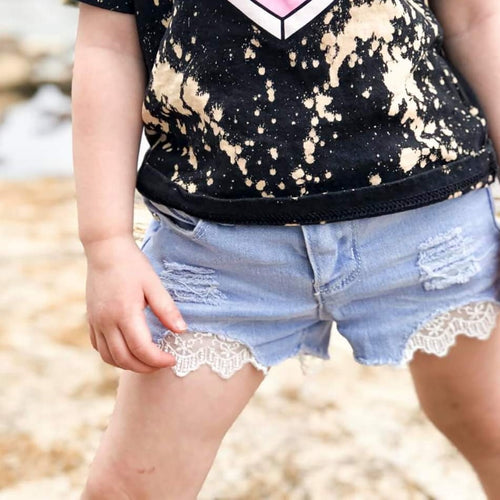 Peekaboo Lace Shorts