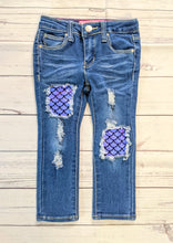 Load image into Gallery viewer, Mermaid Scales Jeans
