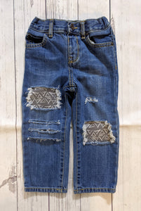 Woodland Triangles Jeans