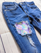 Load image into Gallery viewer, Easter Eggs Jeans