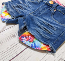 Load image into Gallery viewer, Tie Dye Blast Shorts