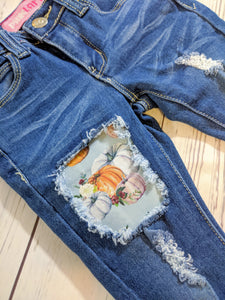Fall Pumpkins Jeans