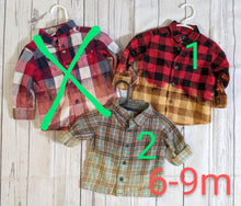 Load image into Gallery viewer, Flannel Shirts