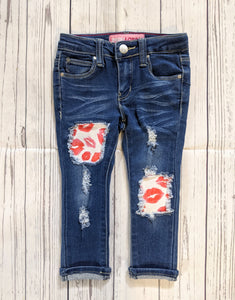 Love Lips Valentines Jeans