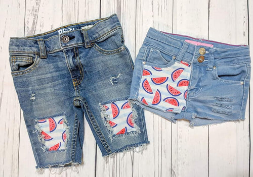 Patriotic Watermelon Shorts