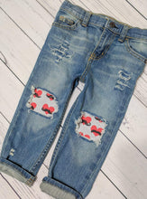 Load image into Gallery viewer, Mustache Valentine's Jeans