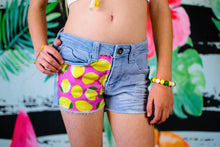 Load image into Gallery viewer, Pink Lemon Shorts