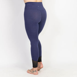 Yoga Pant High Waist Stretch Legging with Net