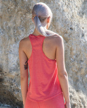 Load image into Gallery viewer, Racerback Midriff Tank Top