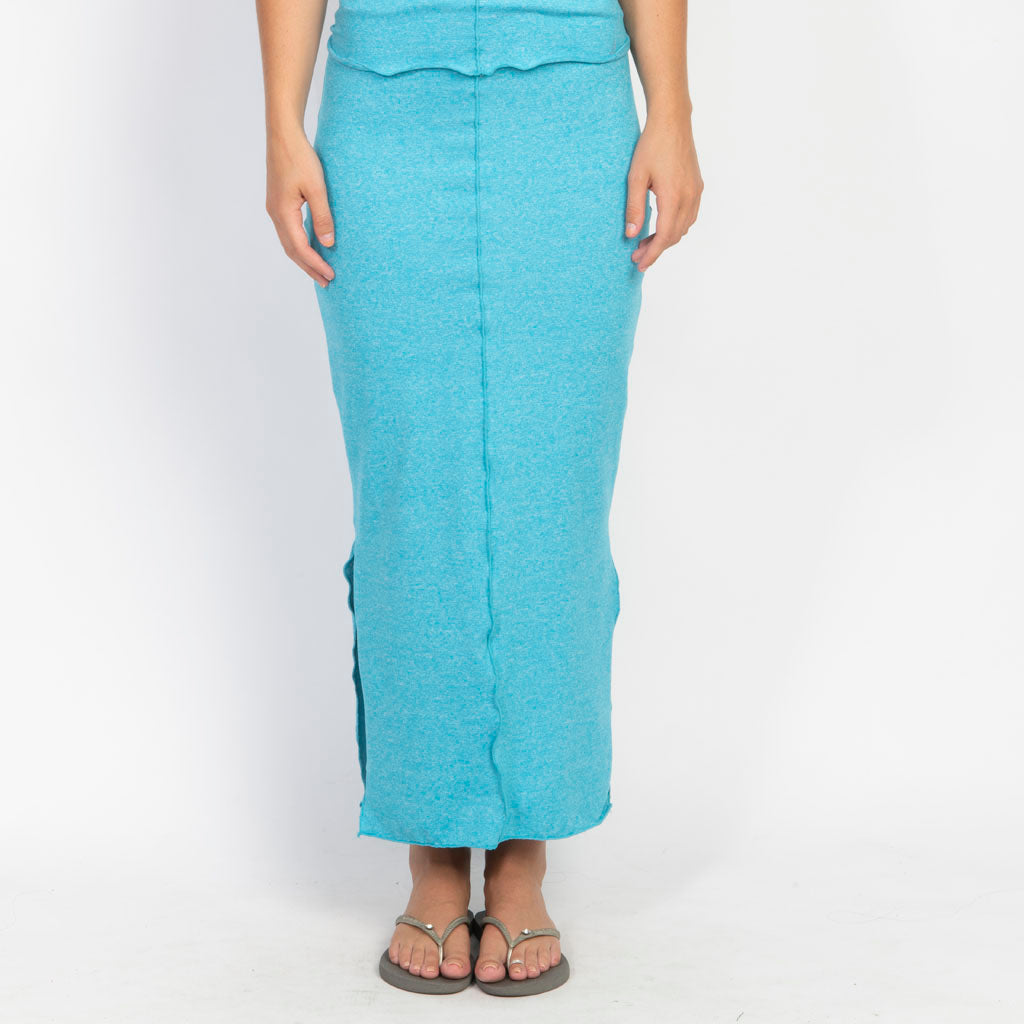 Simple Roll Maxi Skirt
