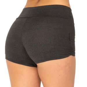 Yoga Short with Scrunch Side