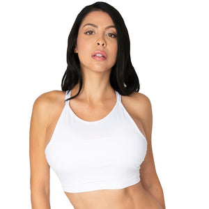 Yoga Bra Double Strap Halter Top