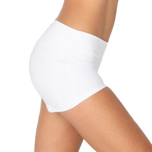 Yoga Short Mid Waist with Scrunch Back