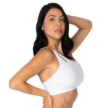 Load image into Gallery viewer, Yoga Bra One Shoulder Halter Top