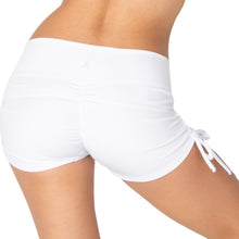 Load image into Gallery viewer, Yoga Short Mid Waist Drawstring with Scrunch Back