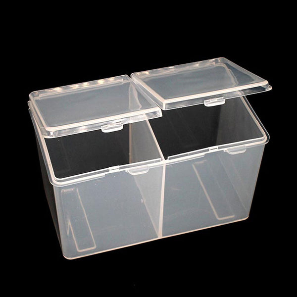 Novel Clear Plastic Love Heart Box Packaging Container Storage Gift Tool SS3