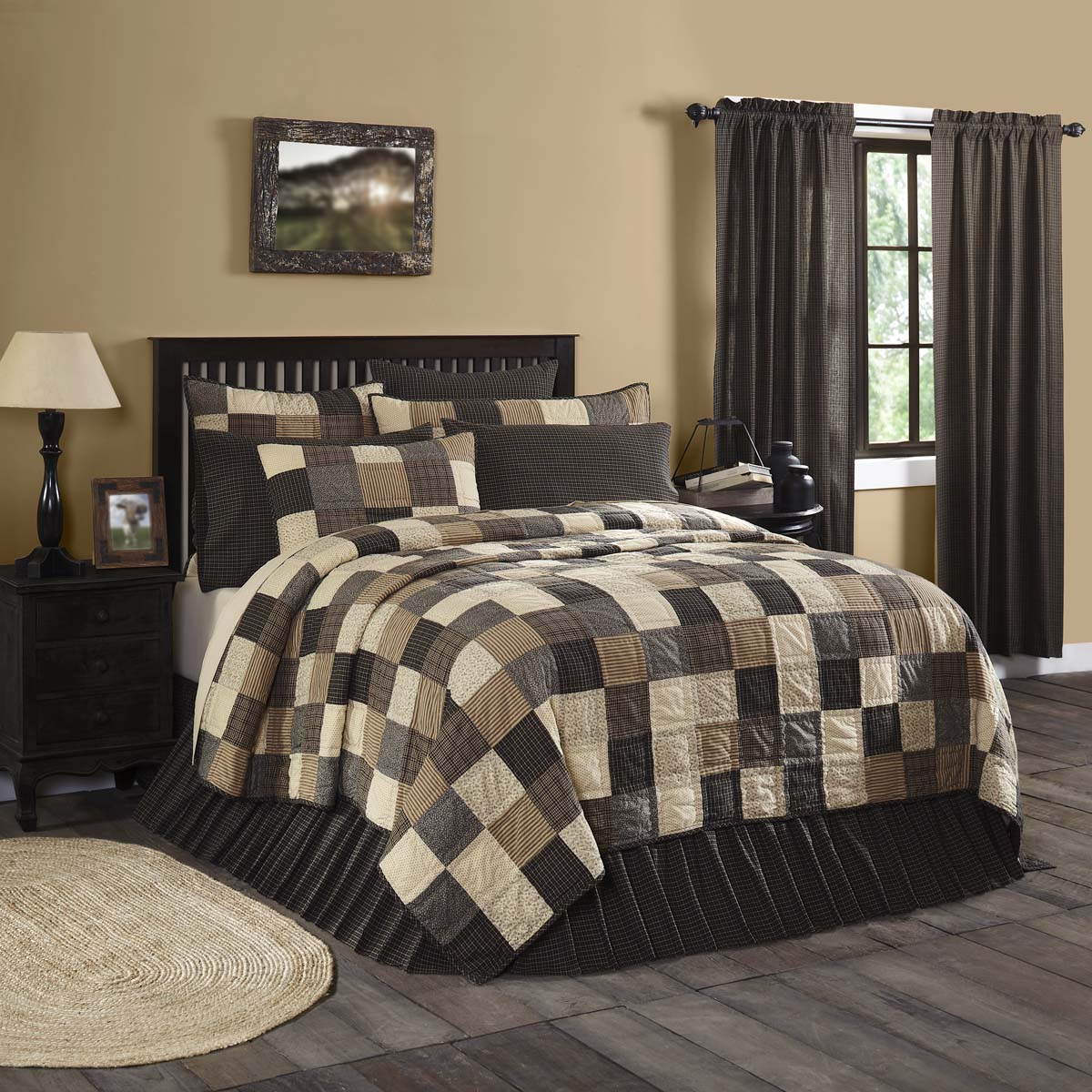 Kettle Grove King Quilt 110Wx97L - Woodrol