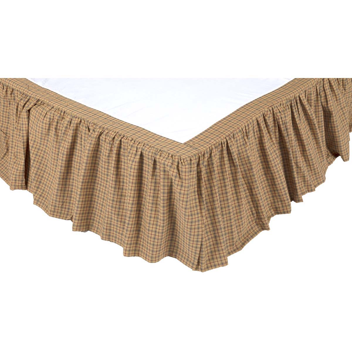 Millsboro King Bed Skirt 78x80x16 - Woodrol