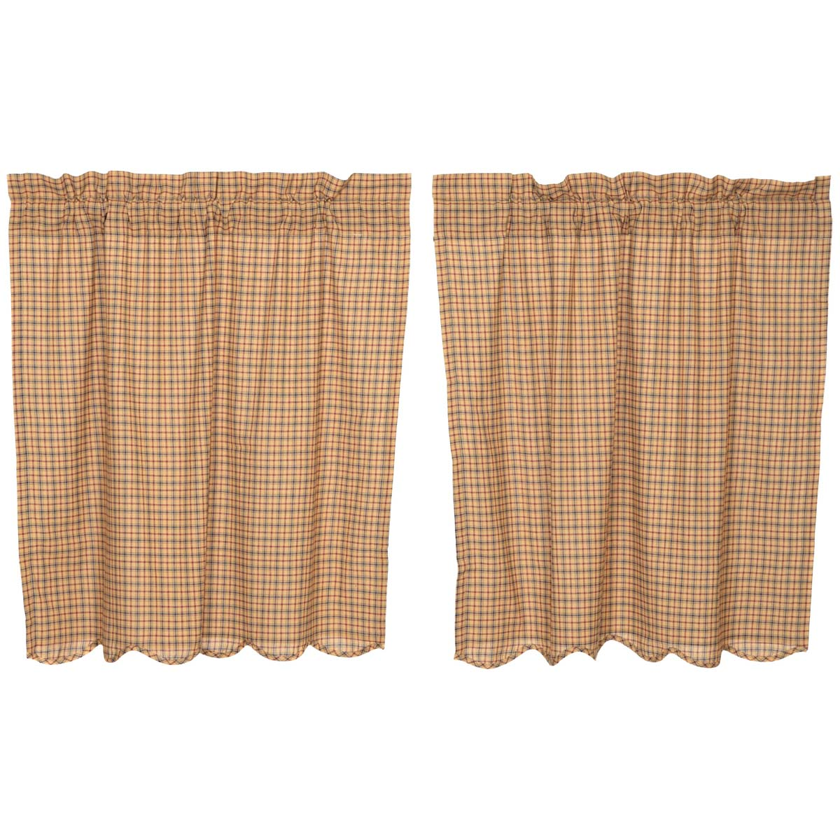 Millsboro Tier Scalloped Set of 2 L36xW36 - Woodrol