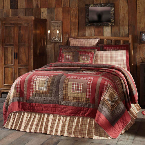 Tacoma Luxury King Quilt 120Wx105L - Woodrol