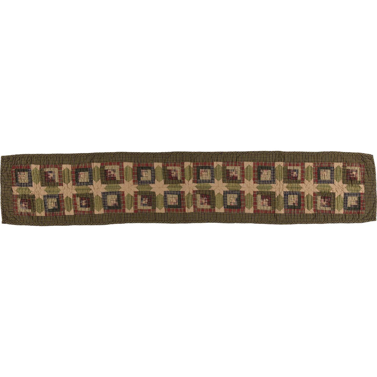 Tea Cabin Runner Quilted 13x72 - Woodrol