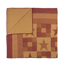 Ninepatch Star King Quilt 105Wx95L - Woodrol